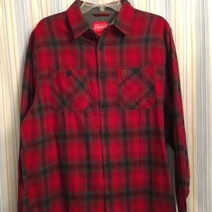 NWT Coleman Brushed Flannel Shirt